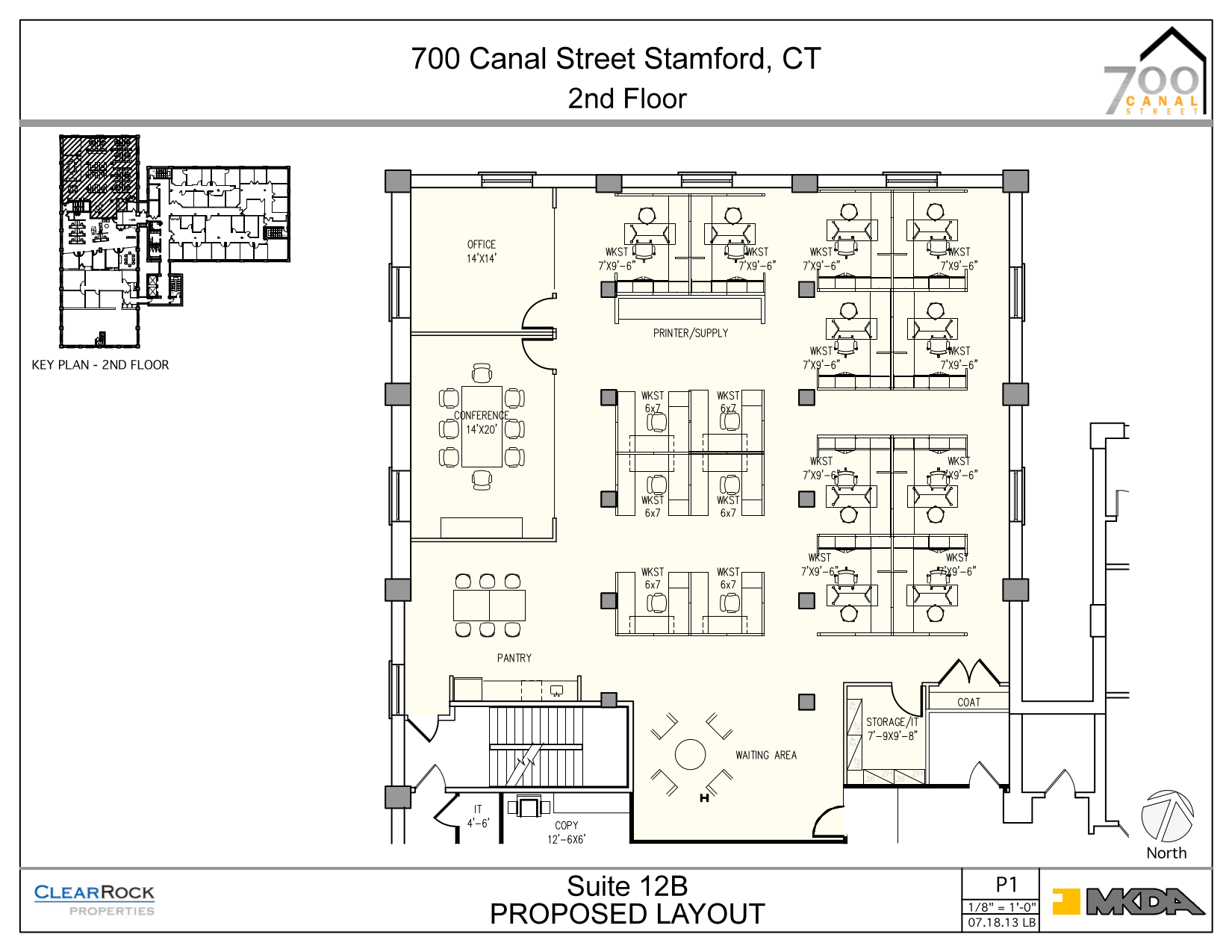 700 canal street 2nd floor unit 12b vts for Vice president house floor plan