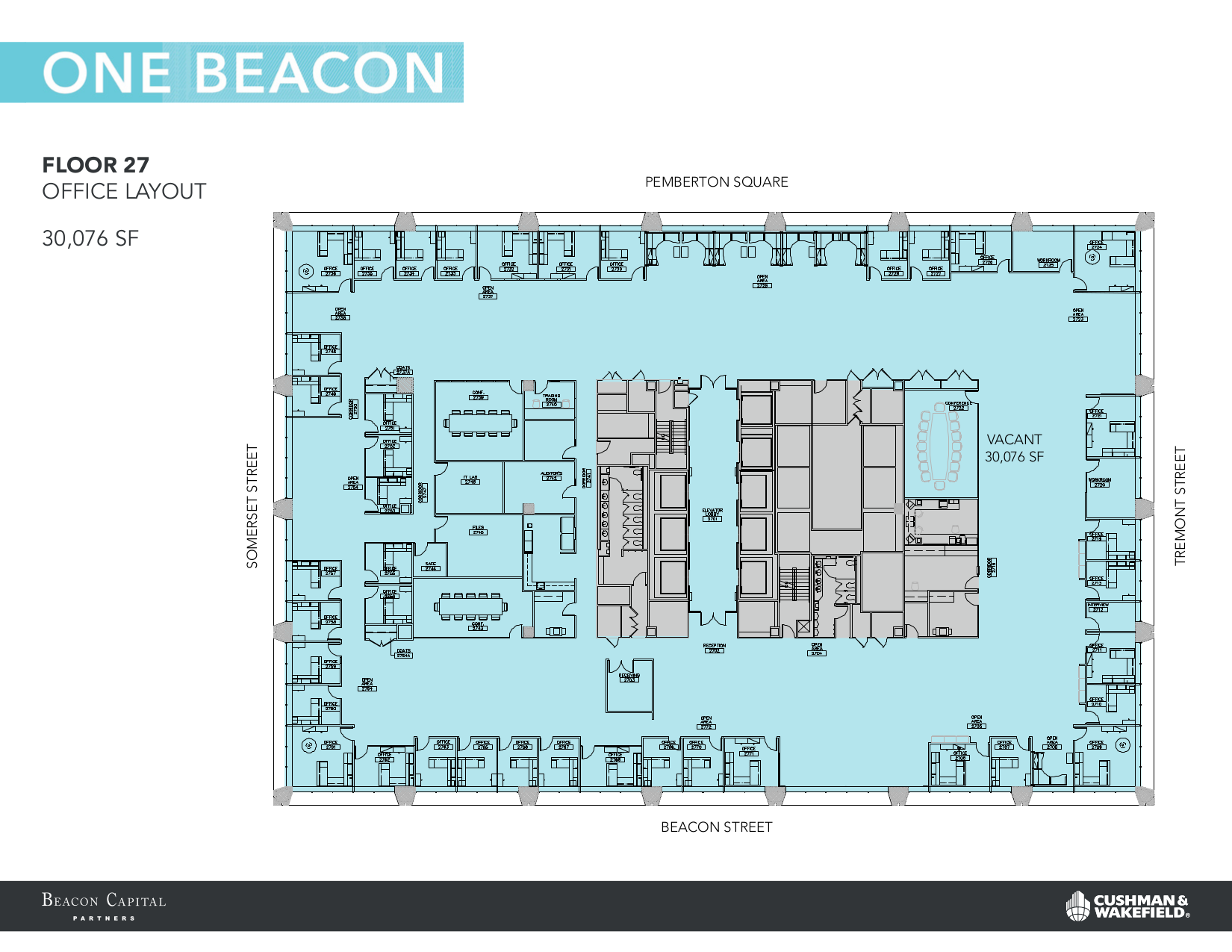 1 Beacon Street Old 27th Floor Vts