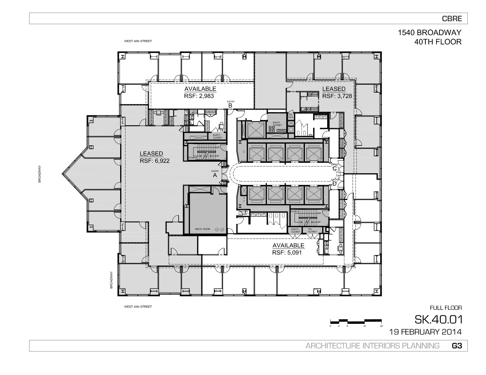 1540 Broadway 40th Floor Unit D Vts
