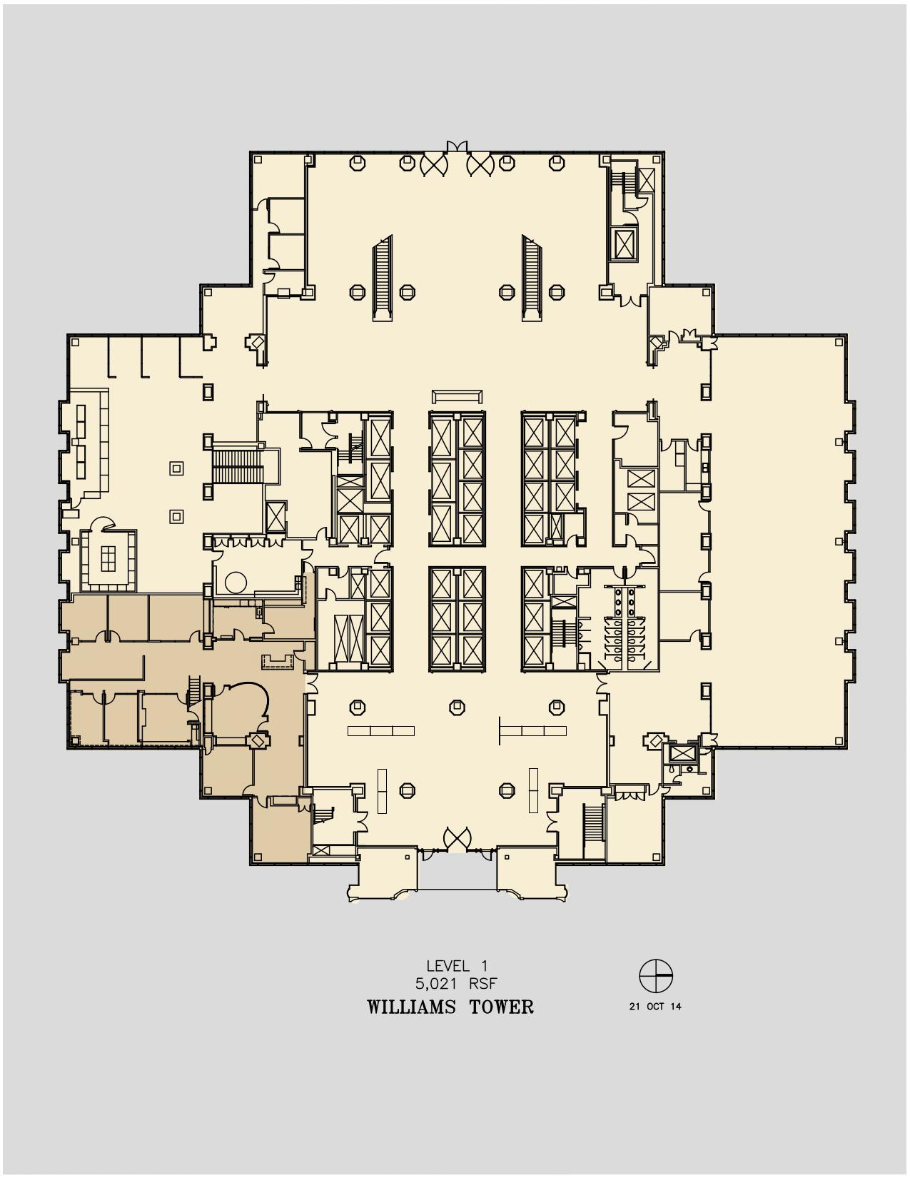 Williams Tower 2800 Post Oak Blvd 1st Floor Unit 111 Vts