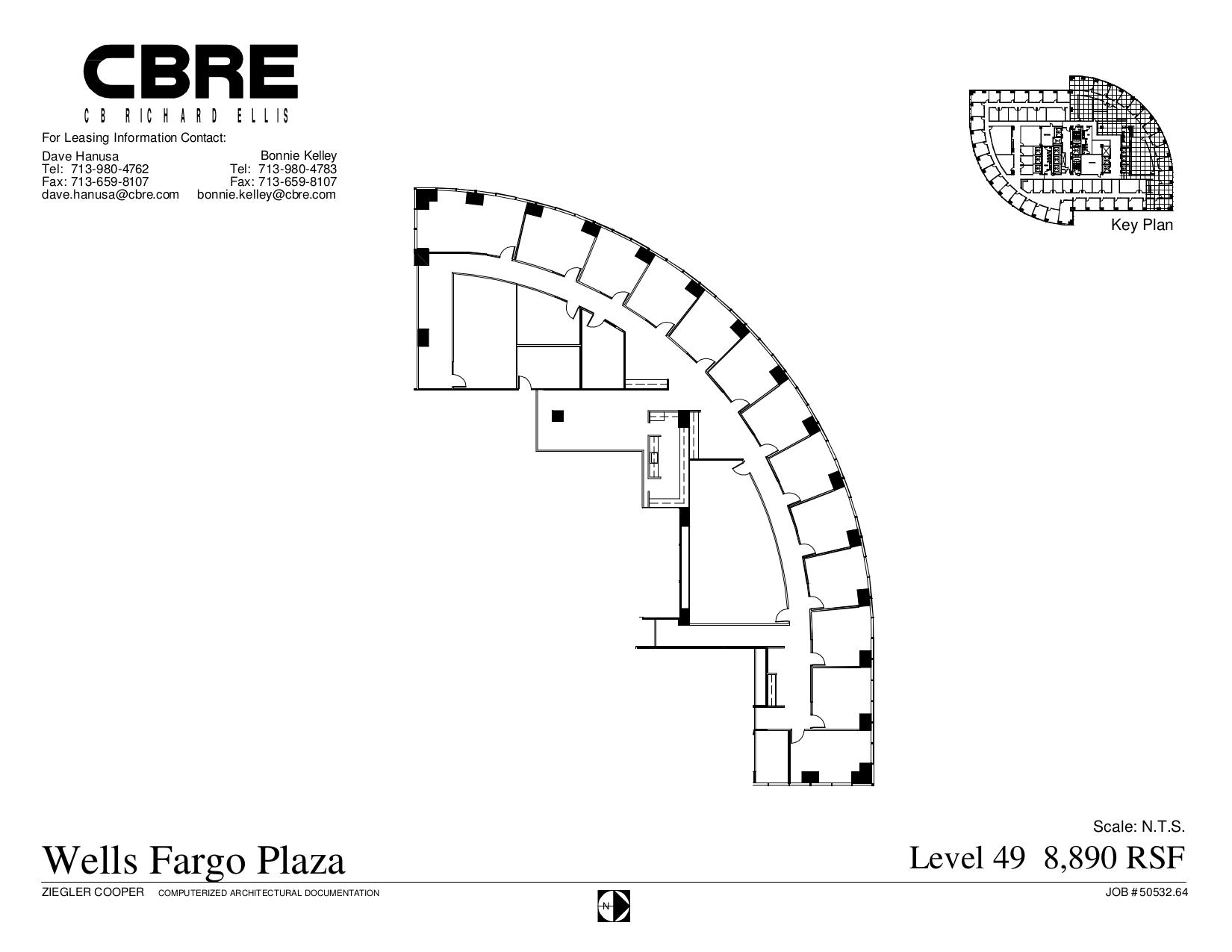 wells fargo plaza 1000 louisiana street 49th floor unit
