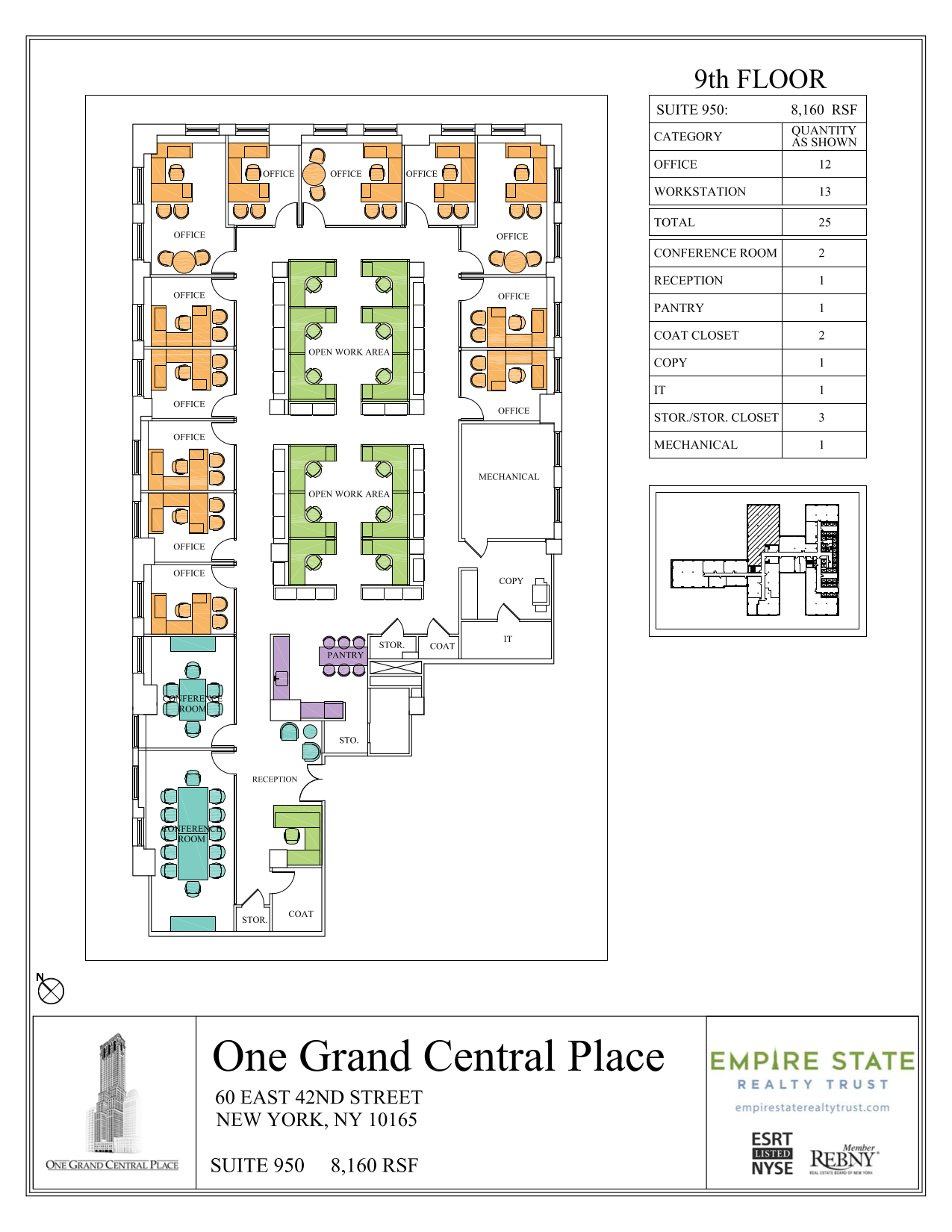 One Grand Central Place 60 East 42nd Street 9th Floor