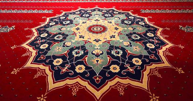 Renkli Cami Halı