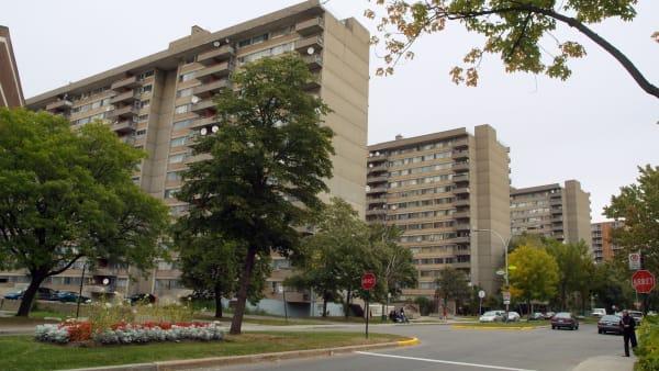 Le quartier Chameran dans l'arrondissement Saint-Laurent à Montréal.