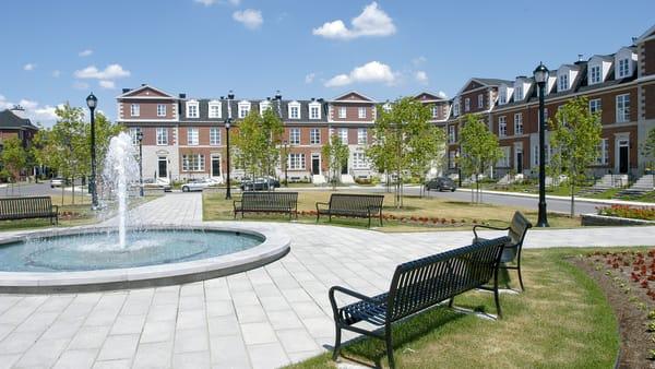 Le quartier Bois-Franc dans l'arrondissement de Saint-Laurent à Montréal.