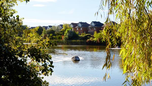 Quartier d'Anjou-sur-le-lac.