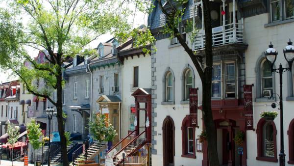 Quartier latin Ville-Marie Montréal