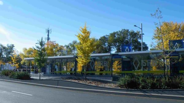 Boulevard Pie-IX dans l'arrondissement de Montréal Nord.