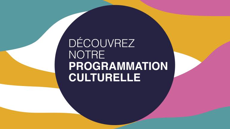 Affiche annonçant la programmation culturelle de la Maison de la culture d'Ahuntsic-Cartierville pour l'automne 2021