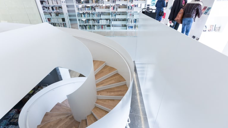 Bibliothèque Saul-Bellow.