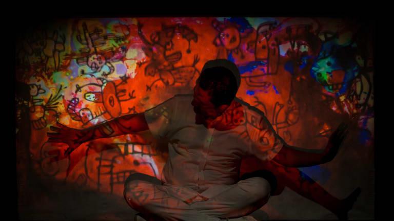 Photo du spectacle Lettres de la ville-peinture.