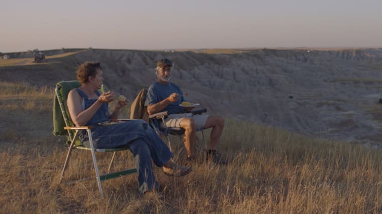 Photo du film nomadland.