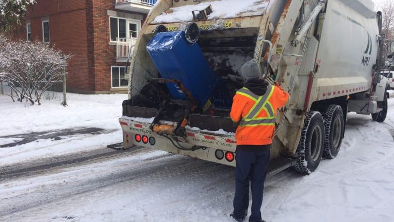 Recycling collection (collecte de matières recyclables)