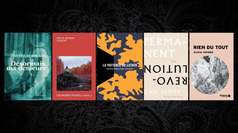 Grand Prix du livre de Montréal 2021 - Les finalistes