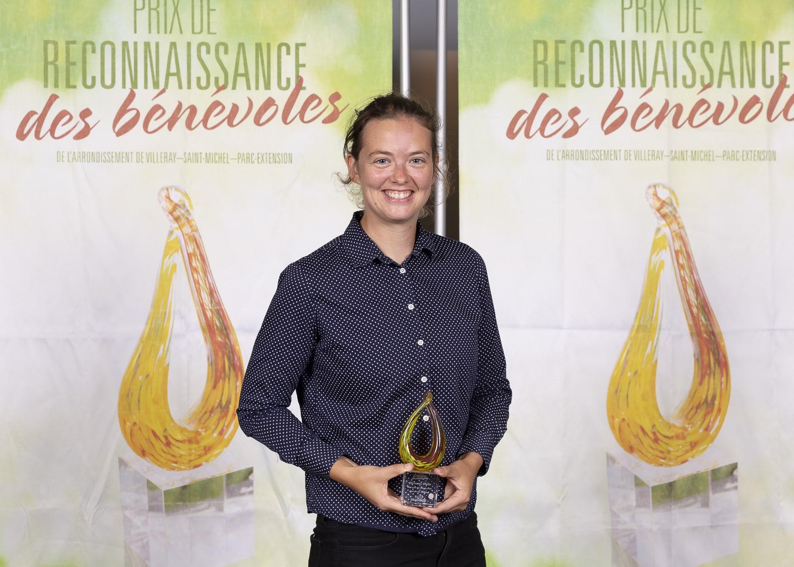 Alexandra Paillé, bénévole