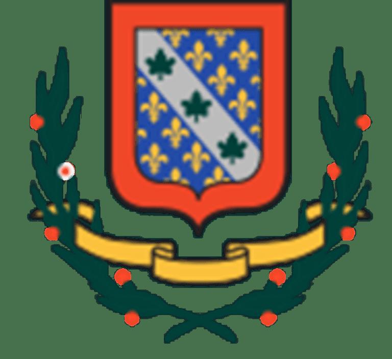 Armoiries de l'arrondissement d'Anjou.