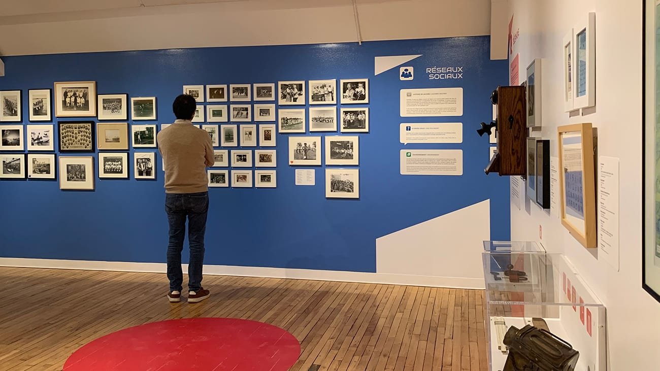 Exposition La vie sans applis au musée de Lachine