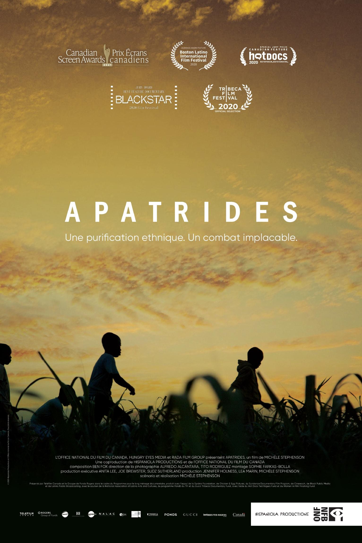 Affiche du documentaire Apatrides de Michèle Stephenson.