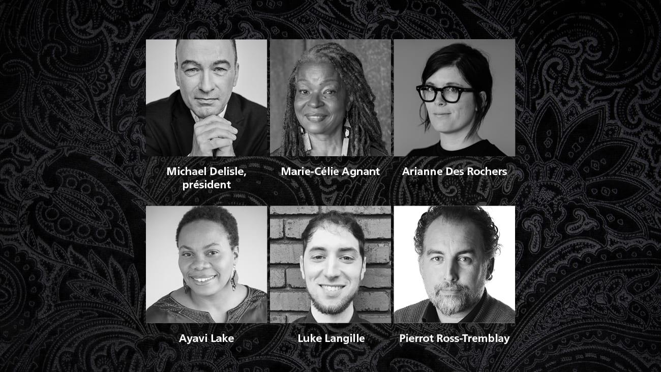 Membres du jury du Grand Prix du livre de Montréal 2021