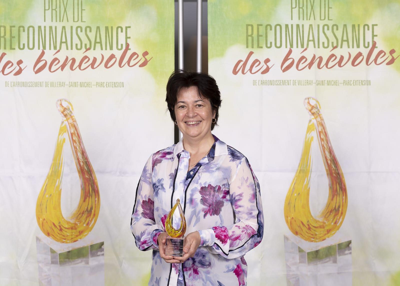 Lyne Bélisle, bénévole