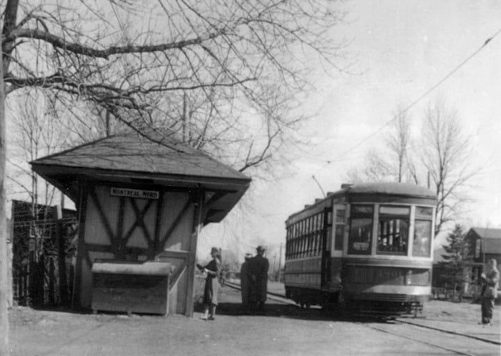 Le tramway à Montréal-Nord