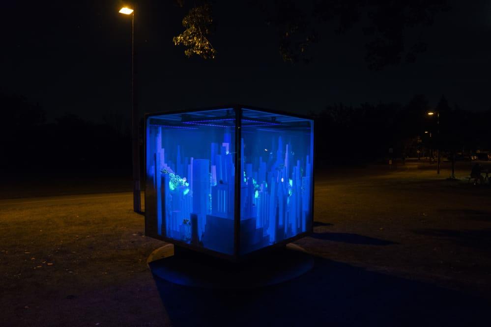 La Grande Promenade - Cube spatial