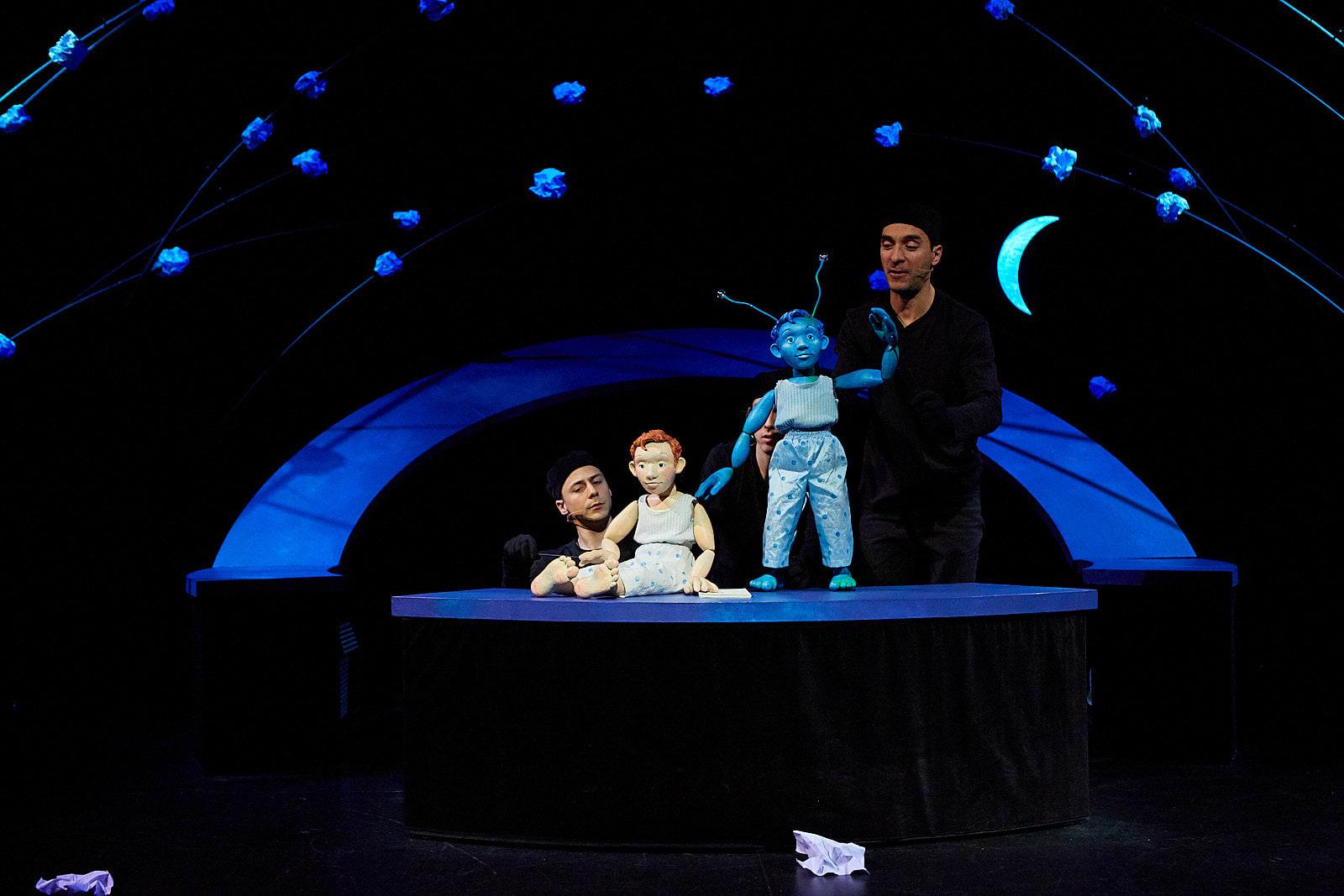 Photo du spectacle Marco bleu.