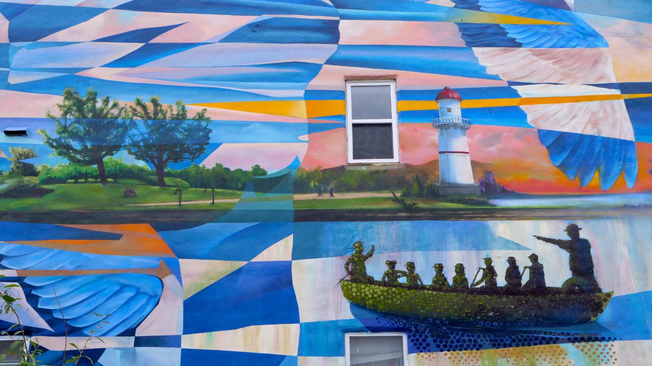 Murale Transmigration