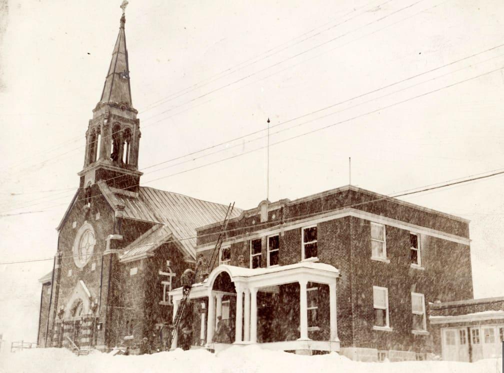 Église Saint-Vital vers 1930