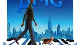 Dessin représentant un homme marchant sur les touches d'un clavier de piano