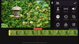 Montage vidéo sur les téléphones intelligents et tablettes