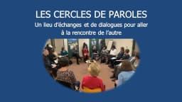 photo des personnes assises en cercle qui participent à un cercle de paroles
