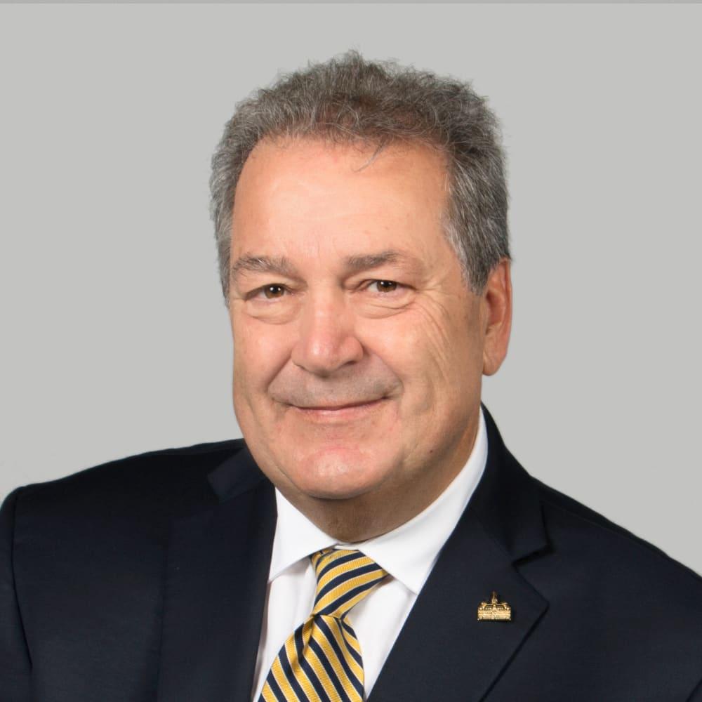 Yves Gignac, conseiller de l'arrondissement Pierrefonds-Roxboro.