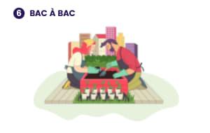 Illustration de ce à quoi pourrait ressembler le projet 6- Bac à bac