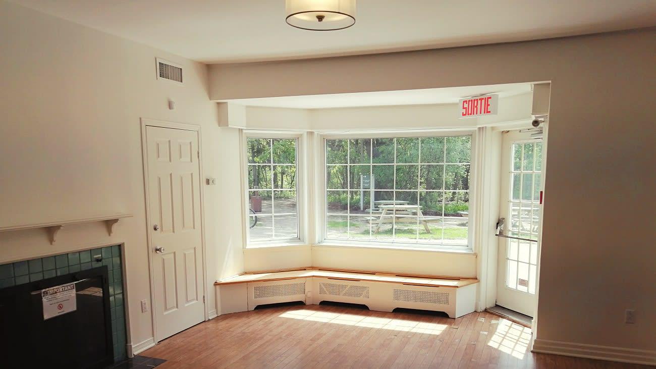 La mésange, salle à louer à la maison Pitfield du parc-nature du Bois-de-Liesse.