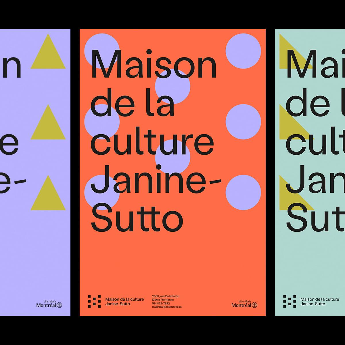Nouvelle identité maison de la culture Janine-Sutto