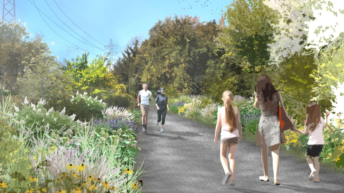 Corridor vert - Montréal-Ouest