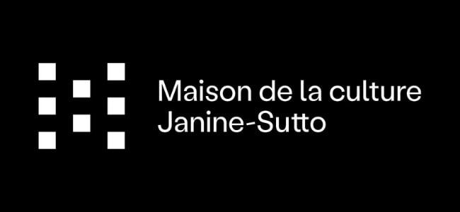 Nouveau logo de la maison de la culture Janine-Sutto