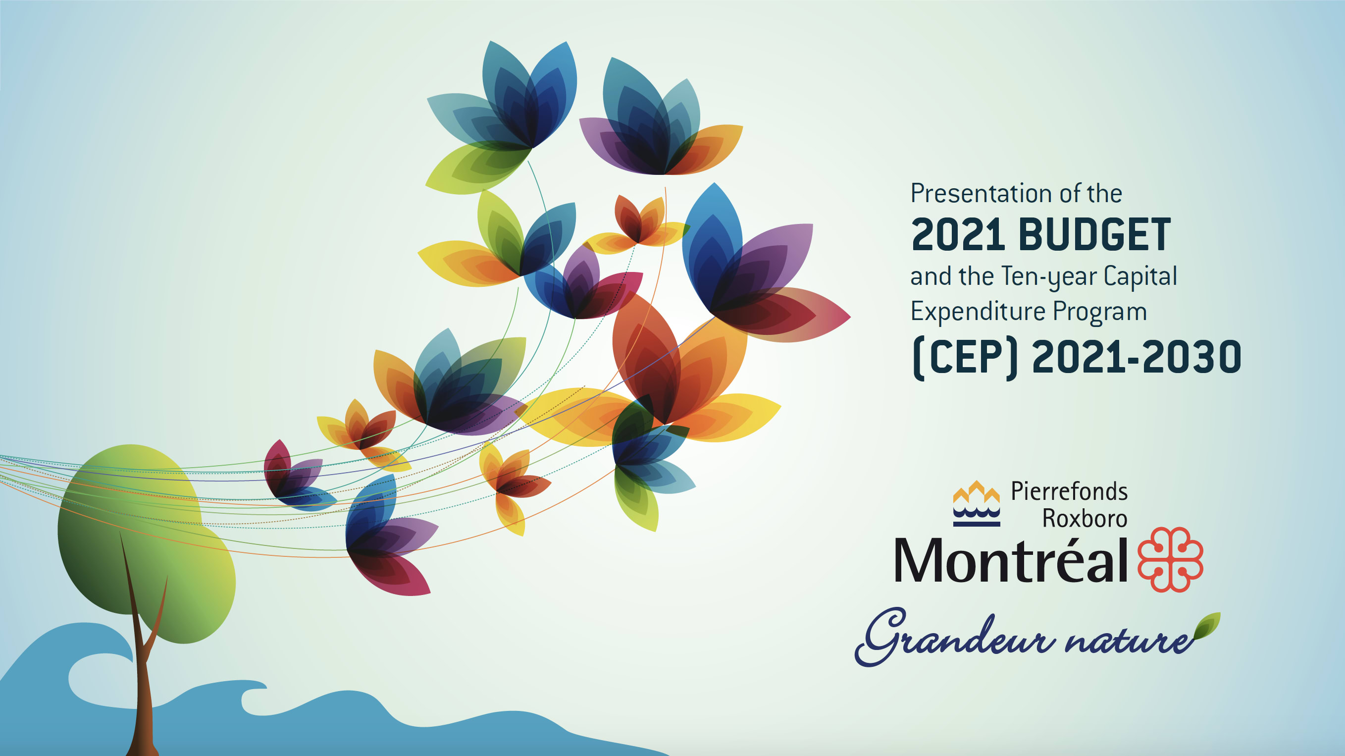 Public presentation of the 2021 Budget and CEP 2021-2030 in Pierrefonds-Roxboro