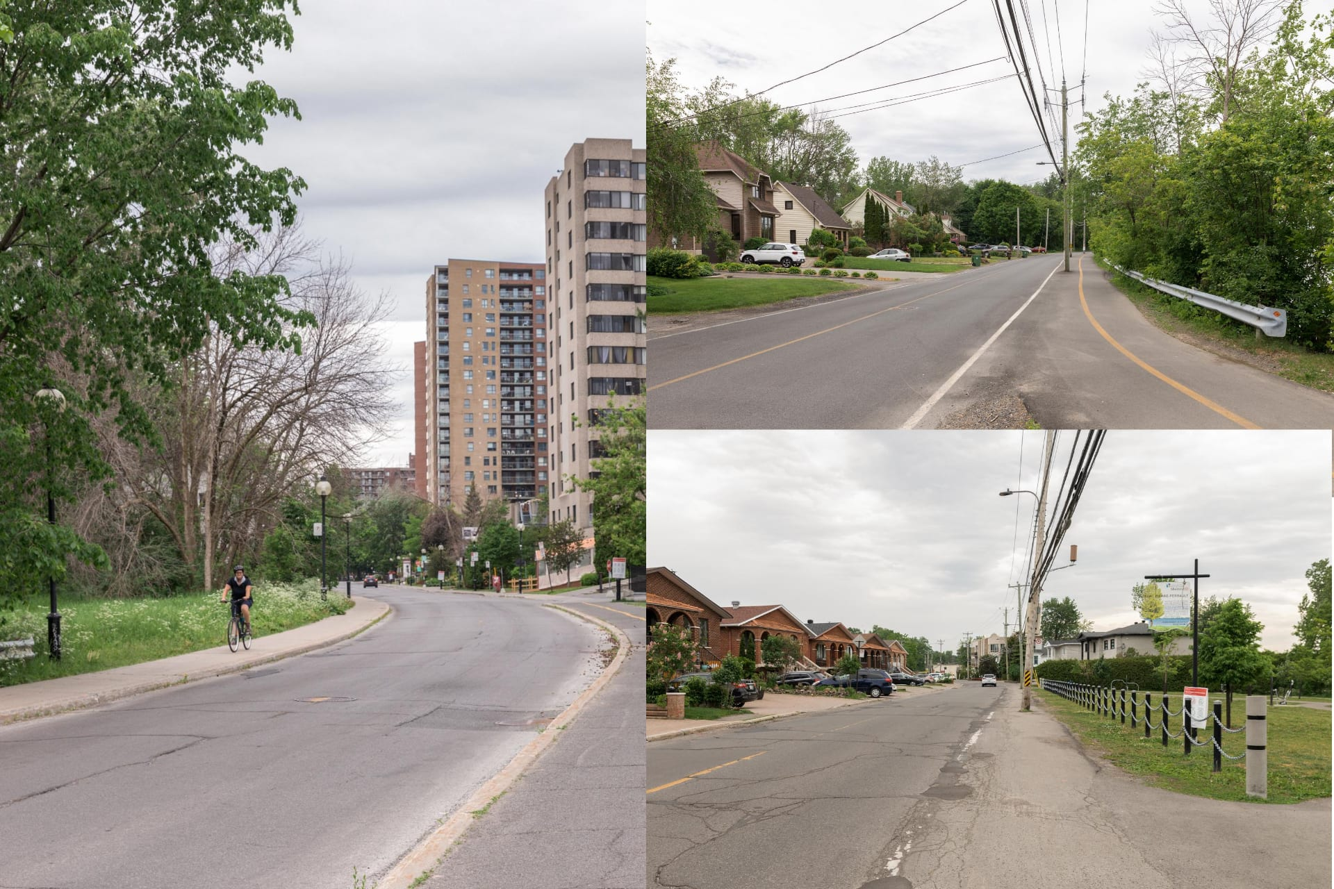 Montage photo du boulevard Gouin