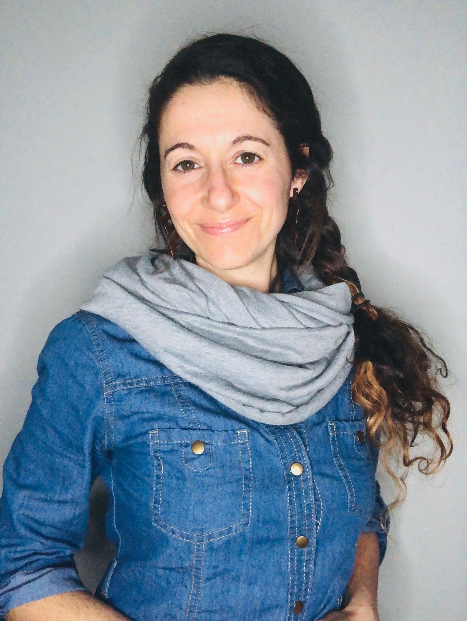 Marie-Pierre Petit, conteuse en LSQ