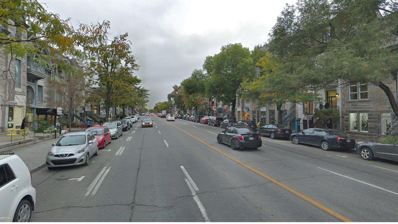 REV - Avant - Rue Saint-Denis, entre rue Roy et avenue Duluth