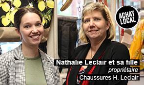 Portrait de Nathalie Leclair