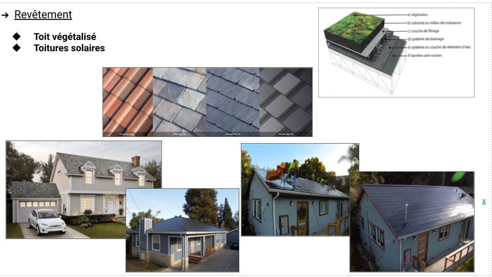 Bâtiments - toiture