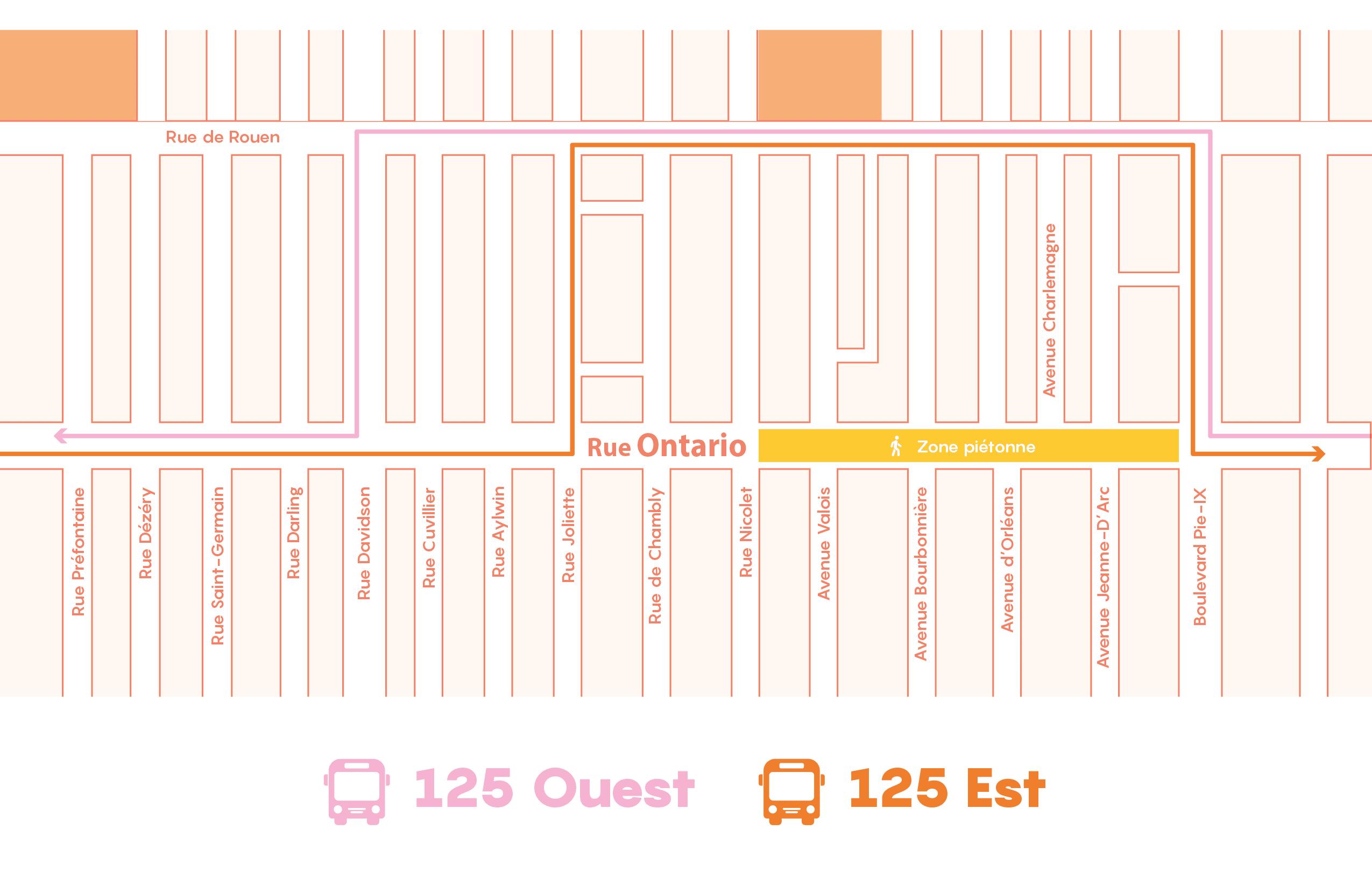 Promenade Ontario 2021_Carte autobus 125