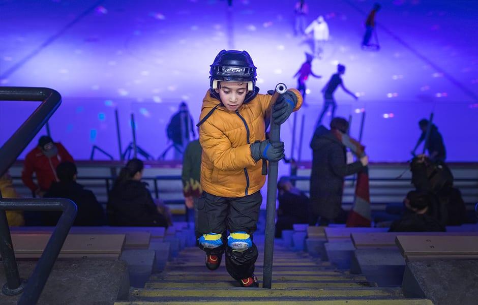Cours de patinage gratuit Aréna Camillien-Houde Ville-Marie