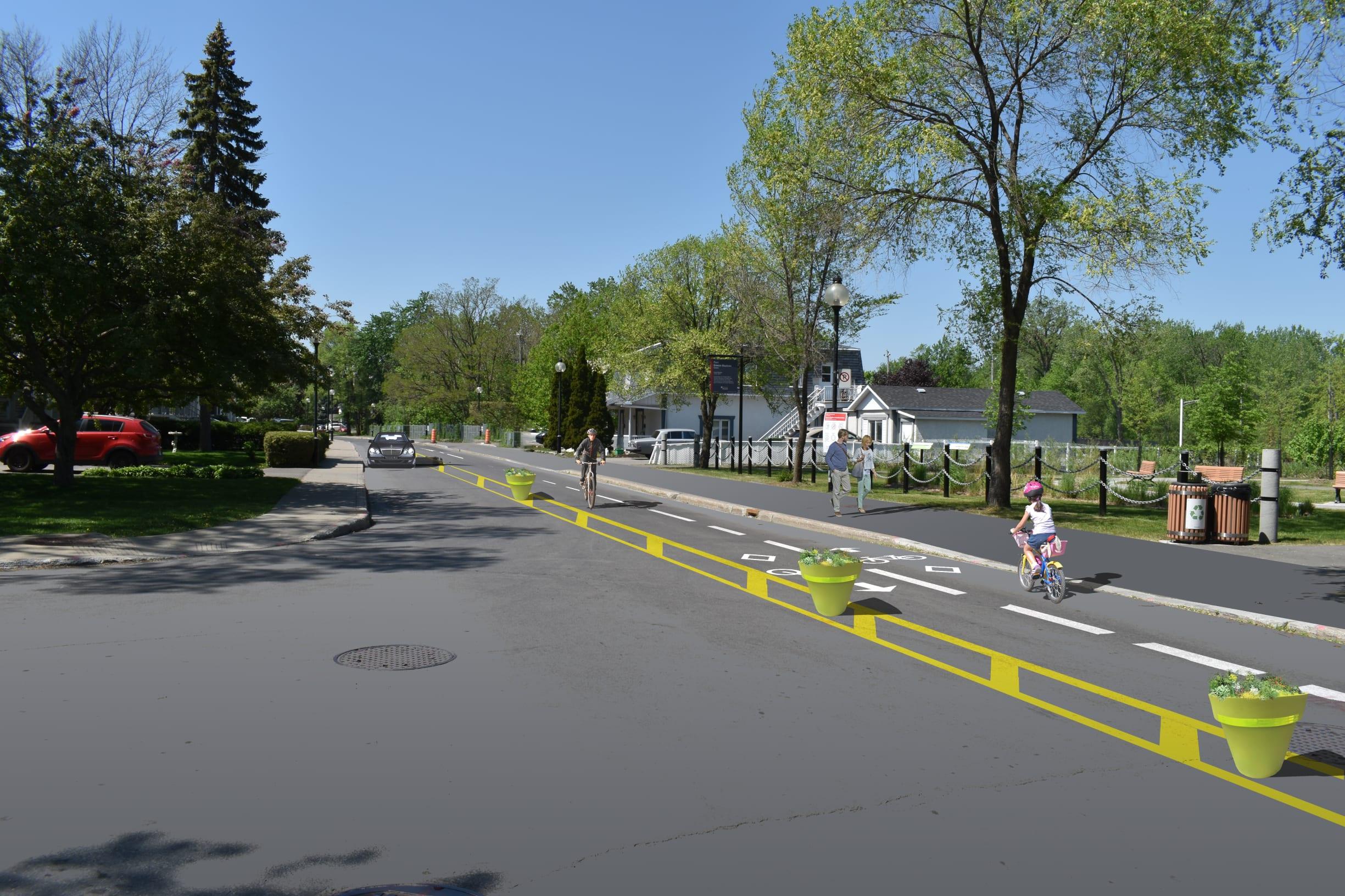Boulevard Gouin - Projet poussette