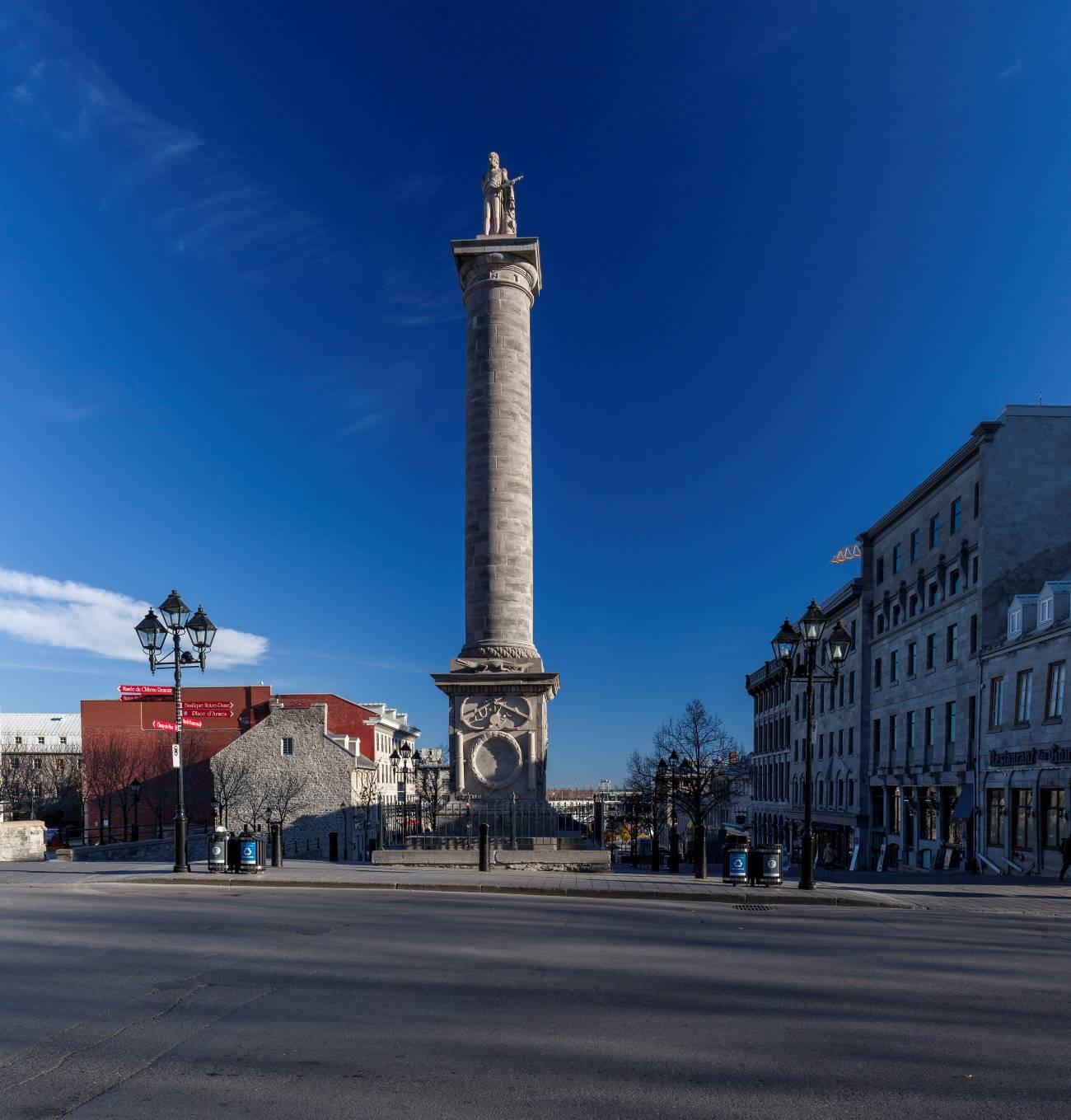 Monument à Nelson - Ville de Montréal