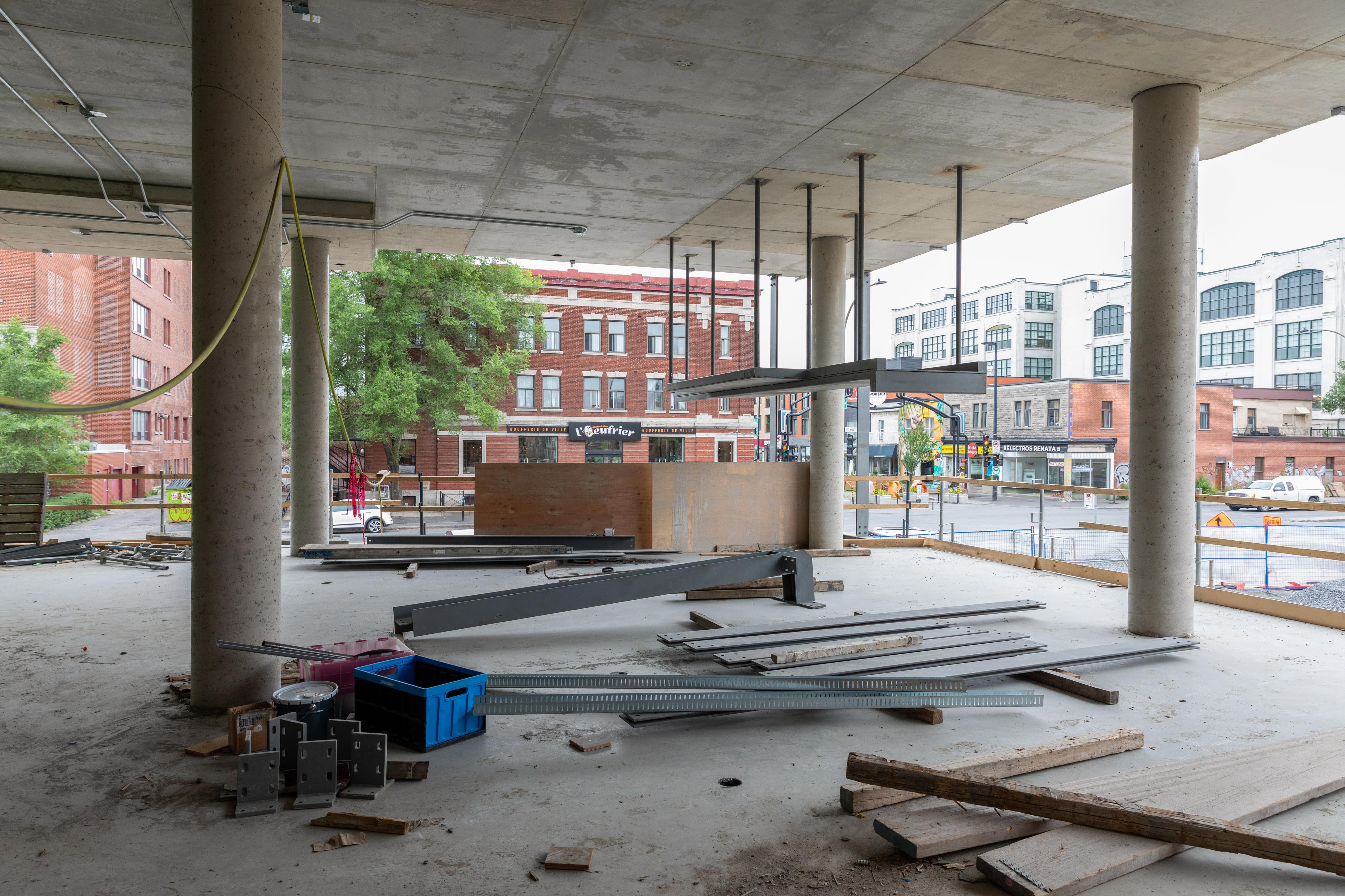 Bibliothèque Maisonneuve, juillet 2021
