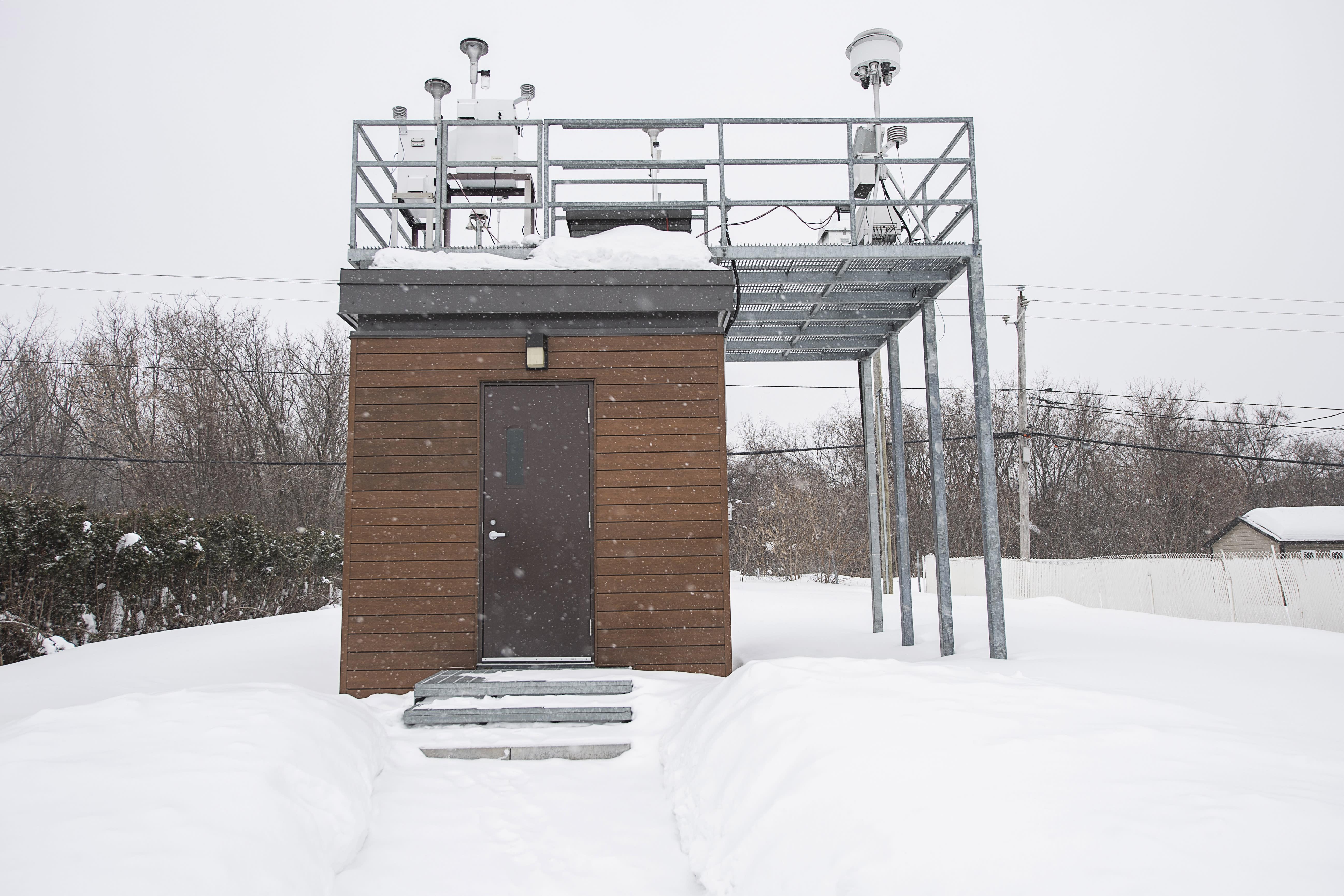 Station de la qualité de l'air à Pointe-aux-Trembles